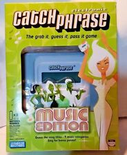 Parker Brothers Electronic Catch Phrase Game MUSIC EDITION Party Adults