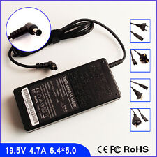 AC Power Supply Charger Adapter for Sony VAIO VPCCW19 VPCCW17FX SVS131B11L