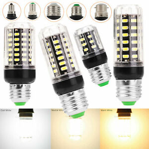 E26 E27 E12 E14 LED Corn Light Bulb B22 5W 6W- 8W Ultra Bright Lamp 220V 110V SC