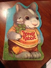 Vintage Children's Board Book HONEY RABBIT 1982 Hopkins Cyndy Szekeres Bunny 80s