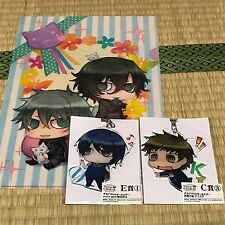 Nitro plus CHiRAL Togainu no chi Sweet pool Clear folder Key Chain Akira Shiki