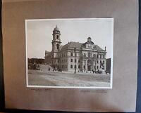 Fotografie Ständehaus Aufgang zur Brühlschen Terasse 1908 Dresden Sachsen xz