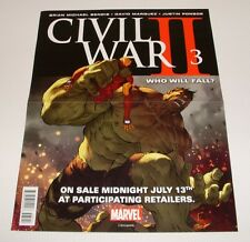Poster - Civil War II #3/Kingpin #1 - VF - SALE!!!