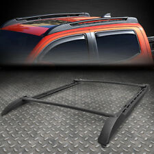 FOR 05-18 TOYOTA TACOMA DOUBLE CAB (CREW) ABS OE STYLE ROOF SIDE RAIL CROSS BAR