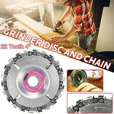 Angle Grinder Disc Tooth Chain Saw For Wood Carving Cutting Plastics Tool