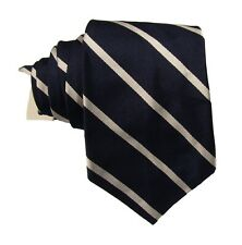 Dark Purple /& Navy Blue Club Striped Frederick Thomas Designer Mens Tie