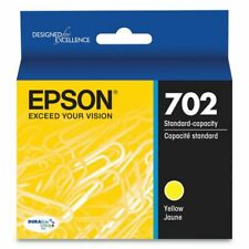 Genuine Epson T702420  (702) Durabrite Ultra Ink, 300P Yield, Yellow EXP 04/23