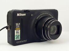 Nikon Coolpix S9200 Compact Camera + Lanyard + Nikon Case VGC