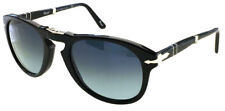 PERSOL 714 52 BLACK S3 NERO POLARIZED POLARIZZATO CUSTOMIZED PIEGHEVOLE FOLDING