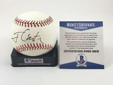 Jimmy Carter President Signed Autographed MLB Baseball Beckett