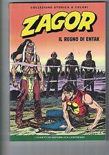 Fumetto ZAGOR editoriale LA REPUBBLICA numero 188