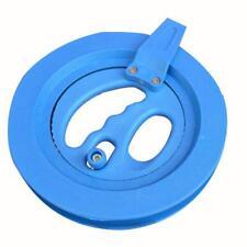 Kite Line Winder Winding Reel Grip Wheel with Lines String Flying Tools Blue