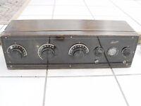 1920's Cresodyne Battery Type Receiver Blandin AAA Radio Cabinet no tubes