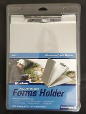 Adams Aluminum Storage Clipboard Portable Form Holder Metal Clip Board FREE SHIP