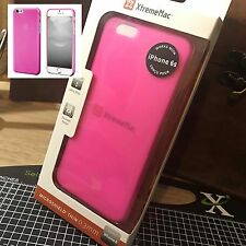 iPhone 6 Micro Slim Protective Impact Resistant Rubberised Bumper Case Pink