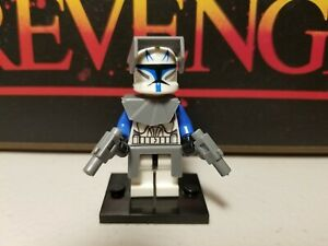 Captain REX 501st commander minifigures clone troopers Star Wars Skywalker