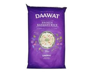 Daawat Broken Basmati Rice 20kg