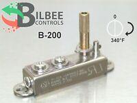 Bilbee Controls B-200 Conduction Thermostat NEMCO, Vollrath, Range 0 to 340°F