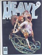 January Heavy Metal Sci-Fi Magazines
