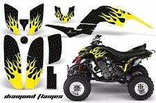 AMR Racing Yamaha Raptor660 Graphic Kit Wrap Quad Decals ATV 2001-2005 DFLAME Y