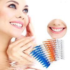 80Pc Soft Plastic Massage Gums Gingival Interdental Brush Massage Toothpick Tool