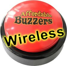 Wireless BIG DADDY™ Table-Top Quiz Game Buzzer with free quiz game software