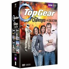 TOP GEAR - THE CHALLENGES Volume 1-4 SEALED/NEW dvds seasons series 1 2 3 4