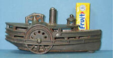 PRICE CUT * 1903 HARRIS C I TOY CONVERTED to STEAMBOAT BANK GUARANTEED OLD T665