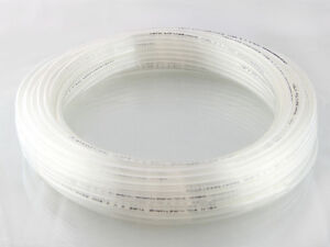 Polyurethane Tubing - Pipe in Clear , Various Sizes and Lengths , Air pipe