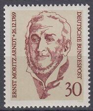 Germany Bund BRD 1969 Mi 611 ** Arndt Dichter Schriftsteller Poet Literacy