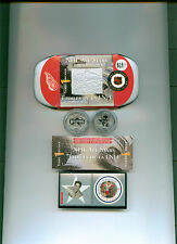 Terry Sawchuck 2001 CANADA MINT STAMP AND MEDALLION SET MINT IN CASE! Detroit