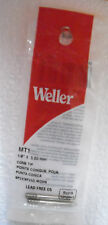 """MT1 """"Weller"""" Cone Shaped Soldering Iron Replacement Tip 1/8"""" Dia."""