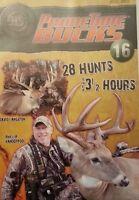 HUNTERS SPECIALTIES PRIMETIME BUCKS 16 DVD 3.5 HRS 28 HUNTS DEER TRACK DECAL