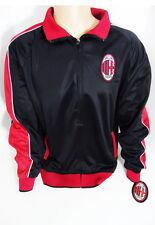 AC Milan Jacket Medium Football Club Soccer New M Black