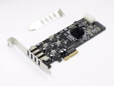 PCI-e To USB 3.0 20G bps 4X 5G Channel Controller Adapter Card NEC upd D720202