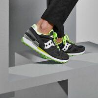 Saucony - Sneakers uomo grigia con dettagli verdi s2108-644