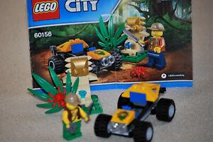 Lego® 60156 City Dschungel-Buggy mit Figur und Anleitung