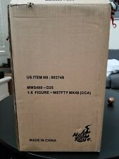 Hot Toys MMS489D25 Iron Man Mark 46 XLVI Concept Exclusive! SIGNED BY DESIGNER!