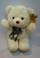 Goffa Int'l Corp Cream/ Light Yellow Plush Stuffed Teddy Bear 12""