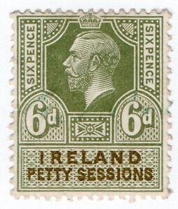 (I.B) George V Revenue : Ireland Petty Sessions 6d