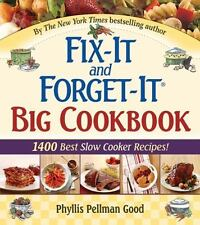 Phyllis Pellman Good FIX-IT AND FORGET-IT BIG COOKBOOK hardcover book (2008)