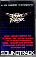 Street Fighter Various Artists 1994 Cassette Tape Movie Soundtrack OST Album