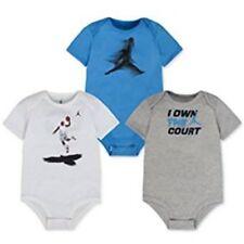 Nike Jordan air Jumpman niños Baby body set 3 unidades azul blanco de manga corta 92
