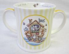 Noah's Ark China Double Handled Mug Keepsake in Gift Box Great Baby Gift