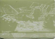 Doctor Who Timeless Yellow Printing Plate Base Card #5