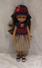 "LES CHERIES Corolle 13"" Doll Clothes #27 Top, Hat & Skirt Set, 14"" Betsy McCall"