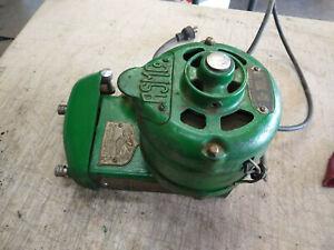 Vintage Antique American Slicing Machine Company Model 52 Meat Slicer Motor