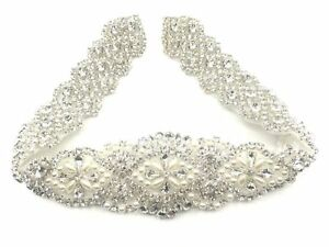 Beautiful Crystal Bridal Sash-Rhinestone Wedding Dress Belt-Bridal Sash