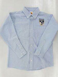 Boys A+ L.S. Democracy Prep Public Schools Uniform Shirt Sz 14Youth -Adult Large