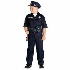 Police Officer Child Costume Small 6 8